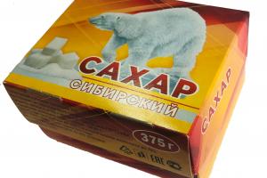 сахар рафинад 375 грамм